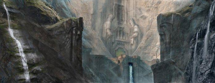 Entrada al Reino de Erebor.