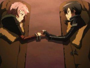 Lizbeth y Kirito